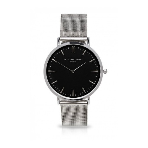 Damenuhr Oxford Small Mesh Silver by Elie Beaumont