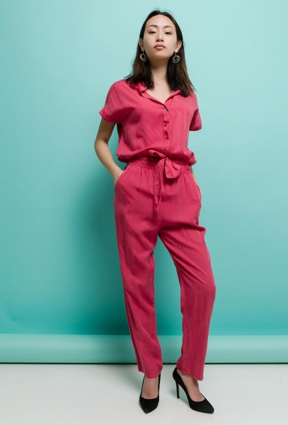 Jumpsuit Overall aus Lyoncell