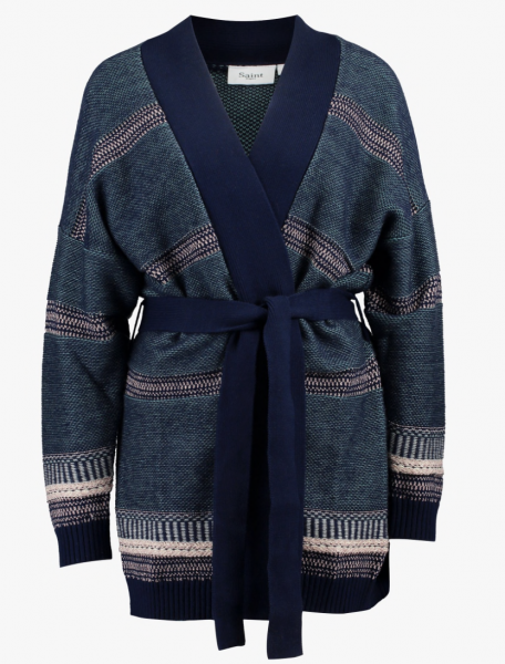 CARDIGAN - Strickjacke Lurex by Saint Tropez