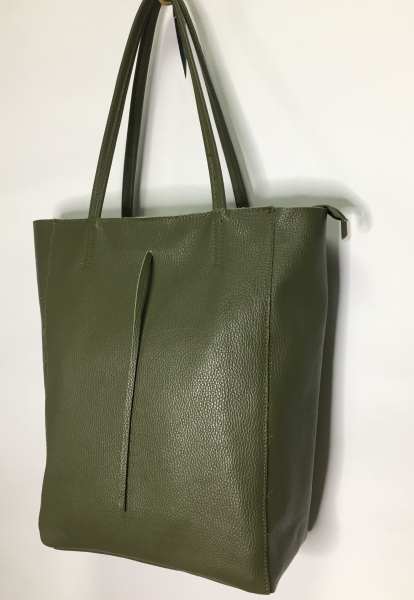 Shopper Bag aus Leder