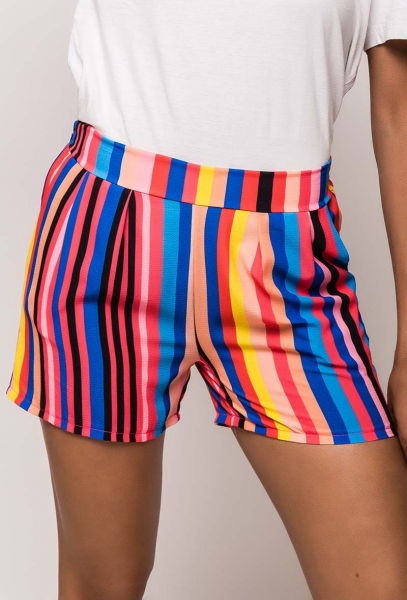 "Shorts ""Stripe"" Made in Italy"