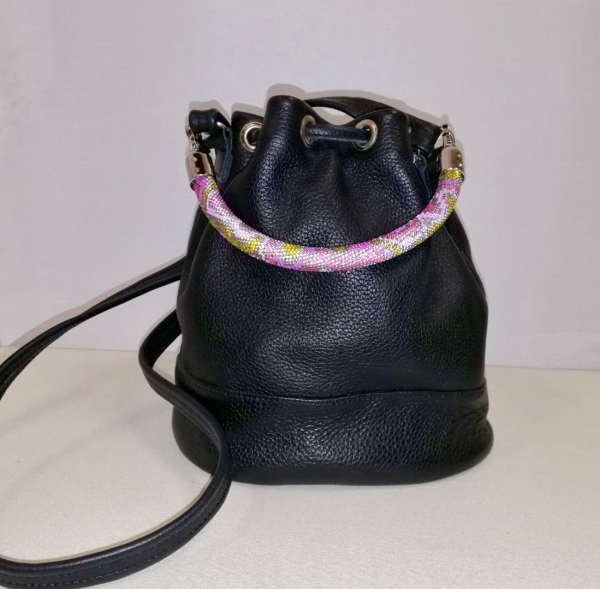 Bucket Bag by Sasha Pikula Black